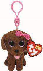 Breloczek TY Beanie Boos Maddie - Brązowy Pies - Brelok (210199)