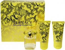 VERSACE Versace Yellow Diamond EDT/S 50ml + Balsam 50ml + żel pod prysznic 50ml