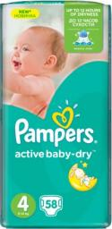 Pampers Pieluchy Active Baby 6 Extra Large (15kg+) 42 szt.