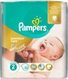 Pampers Pieluchy Premium Care 2 Mini 22SZT. - zakupy dla firm (687733)