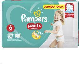 Pampers PAMPERS PANTS PIELUCHOMAJTKI 6 EXTRA LARGE 44 SZT. - zakupy dla firm - 674023
