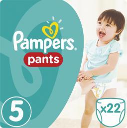 Pampers Pants pieluchomajtki 5 junior 22 szt. (672685)