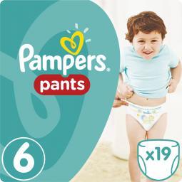 Pampers Pants Pieluchomajtki 6 Extra Large 19 Szt. (673378)