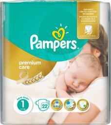 Pampers Pieluchy Premium Care Newborn  (687696)