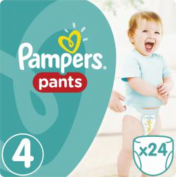 Pampers Pants pieluchomajtki 4 maxi 24 szt. (672647)