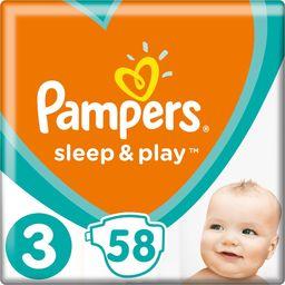 Pampers Pieluchy Sleep&Play 3 Midi 58 szt.