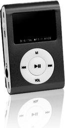 Odtwarzacz MP3 Setty MP3 z LCD + słuchawki SETTY, czarny - GSM014537