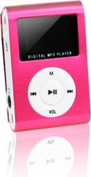 Odtwarzacz MP3 Setty MP3 z LCD + słuchawki SETTY czerwony (GSM014540)