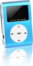 Odtwarzacz MP3 Setty MP3 z LCD + słuchawki SETTY niebieski (GSM014536)