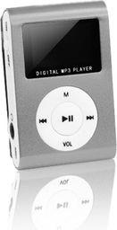 Odtwarzacz MP3 Setty MP3 z LCD + słuchawki SETTY srebrny (GSM014535)