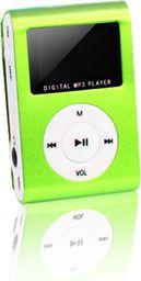 Odtwarzacz MP3 Setty MP3 z LCD + słuchawki SETTY zielony - GSM014534