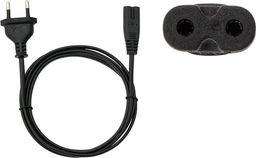 Kabel zasilający Akyga IEC C7 - CEE 7/16 EU (ORG002084)