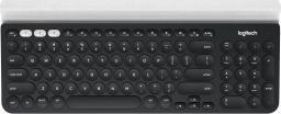 Klawiatura Logitech K780 MultiDev Bezprzewodowa Czarno-biała US (920-008042)
