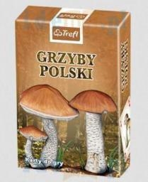 Trefl Karty - Przyroda - Grzyby Polski  (188093)