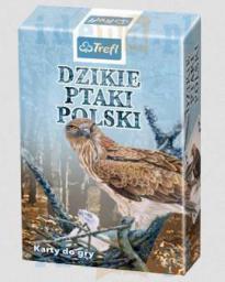 Trefl Karty - Przyroda - Dzikie ptaki Polski (188096)