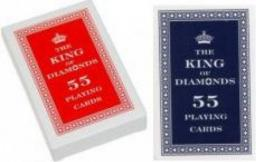 Trefl Karty 55 listków - The King of Diamonds - (173568)