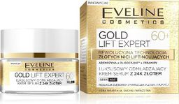 Eveline Eveline Gold Lift Expert 60+ Krem-serum odmładzający na dzień i noc  50ml - 081951
