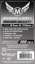 Mayday Koszulki Magnum Platinum 61x112 (100szt) MAYDAY - 206444