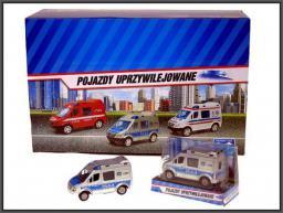 Hipo Mini Van Policja 8cm w pud.
