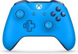 Gamepad Microsoft Xbox One S Niebieski Bluetooth (WL3-00020)