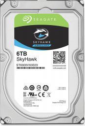 """Dysk serwerowy Seagate SkyHawk 6TB 3.5"""" 7200 SATA III (ST6000VX0023)"""
