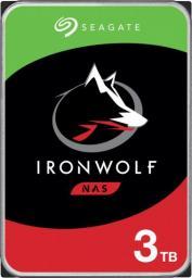 """Dysk serwerowy Seagate IronWolf 3TB 3.5"""" 5900 SATA III (ST3000VN007)"""
