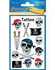 Avery Zweckform Tatuaże - Piraci (106711)