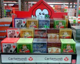 Cartamundi CARTAMUNDI Display 2 Casino mix - 136920