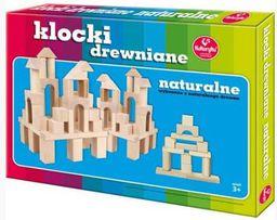 Kukuryku Klocki drewniane naturalne mini - 178848