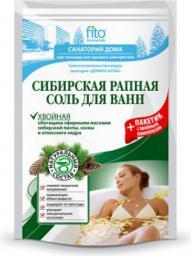 Fitocosmetics Sól do kąpieli syberyjska uzdrawiająca jodla, sosna, cedr 530g