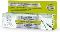Natura Siberica Naturalna syberyjska pasta do zębów na krwawiące dziąsła 7 Północnych Ziół 100ml