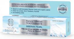 Natura Siberica Naturalna syberyjska pasta do zębów zapewniająca świeży oddech Perła Syberyjska 100ml