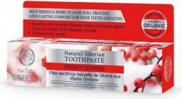 Natura Siberica Naturalna syberyjska pasta do zębów przeciw próchnicy Mroźne Jagody 100ml