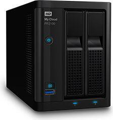 Serwer plików Western Digital My Cloud Pro Series PR2100 8TB (WDBBCL0080JBK-EESN)