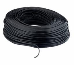 Equip Kabel instalacyjny 4 żyłowy, plaski 100m, czarny (117006)