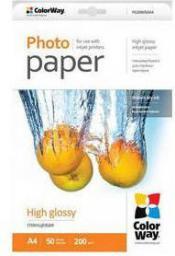 ColorWay High Glossy Photo Paper A4, 200g/m 100 kartek (PG200100A4)