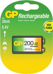 GP Battery Akumulator ReCyko+ 9V Block 200mAh 1szt.