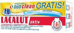 Lacalut  Pasta do zębów Activ paradontoza 75 ml + szczoteczka duo clean