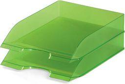 Durable BASIC tacka na dokumenty A4, zielona-przezroczysta - 4005546105963