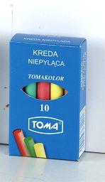 Toma Kreda szkolna kolor, 10 szt.  (OM-81201)