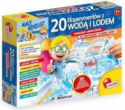 Lisciani Mały Geniusz - 20 eksperymentów  z wodą lodem (304-P54466)
