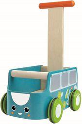 Plan Toys Drewniany chodzik van niebieski - 212128