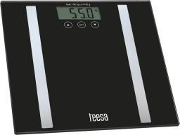 Waga łazienkowa Teesa Czarna (TSA0802)