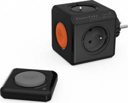PowerCube Rozgałęźnik Original Remote z pilotem PowerRemote czarny (1520BK/FRORRM)