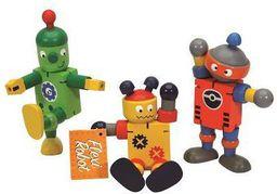 Keycraft Drewniany robot - 211308