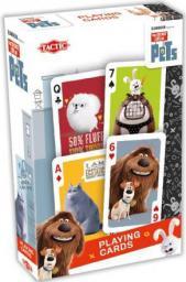 Tactic Sekretne Życie Zwierzaków - Karty do gry (213750)