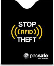 Pacsafe Etui RFIDsleeve 50 Ochraniacz na paszporty Czarne (10370100)