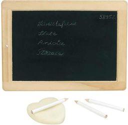 Goki Mała tablica z kredkami i gąbką - 212693