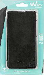 Wiko Etui Flip Cover do Lenny 2 Czarne (WKLENNY2FLBK)
