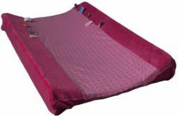 Snoozebaby Przewijak Z Pokrowcem, Ciemno-różowy (SNOO2271)